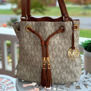 Michael Kors purse satchel